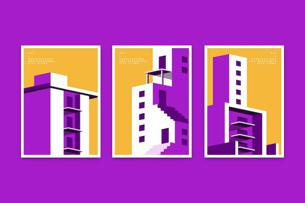 Minimale architectuur omvat sjabloon set