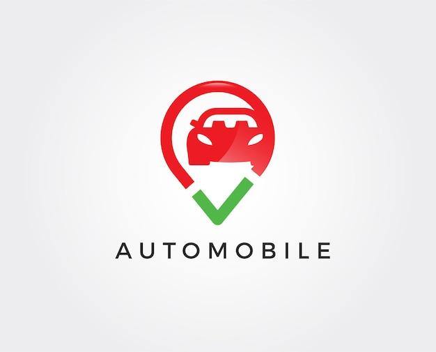 Minimale auto logo sjabloon