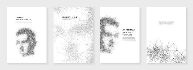 Minimale brochuremalplaatjes