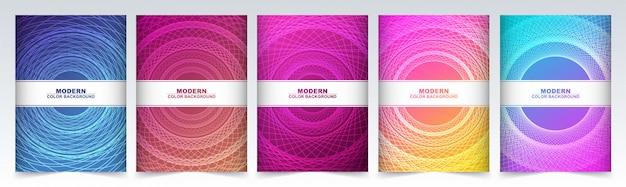 Minimale covers abstracte geometrische patroon achtergrond met lijnen textuur. .