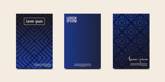 Minimale covers. geometrische halftoongradiënten.