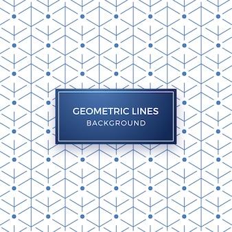 Minimale geometrische lijnpatroon achtergrond