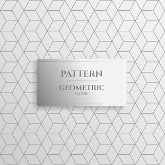 Minimale geometrische patroonachtergrond.