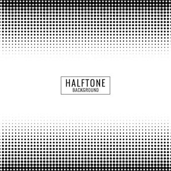 Minimale halftone patroonachtergrond