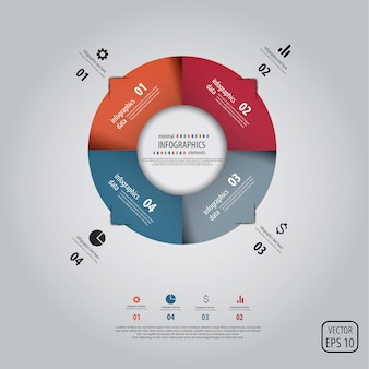 Minimale infographics.