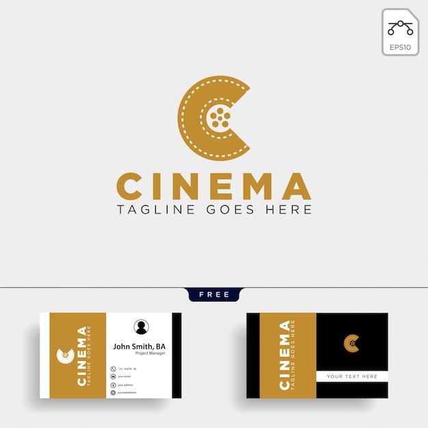 Minimale letter c zwarte kleur eenvoudig logo sjabloon vector illustratie pictogram element geïsoleerd