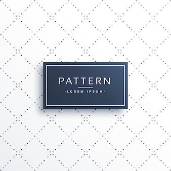Minimale lijn stippen diamant vorm patroon achtergrond