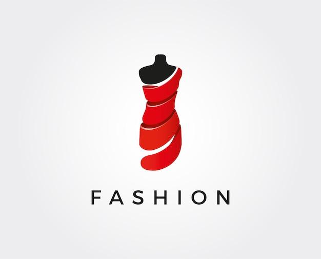 Minimale mode logo sjabloon