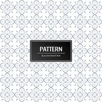 Minimale naadloze patroonontwerpvector