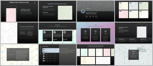 Minimale presentatiesjablonen