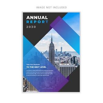 Minimale schone jaarverslag ontwerpsjabloon
