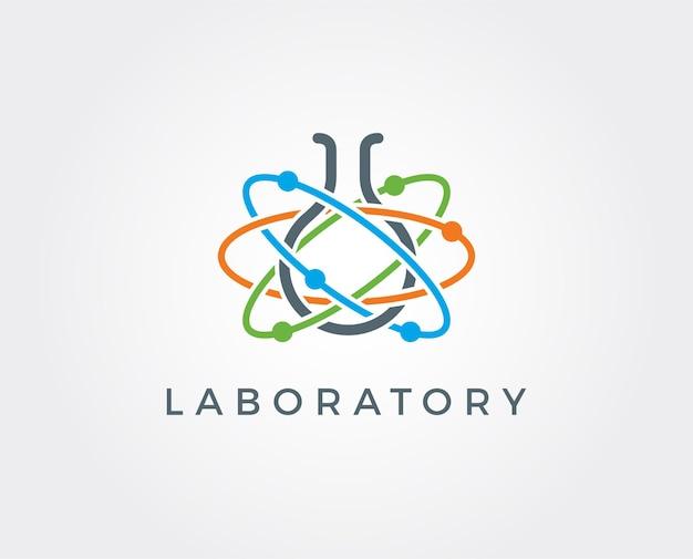 Minimale sjabloon voor laboratoriumlogo