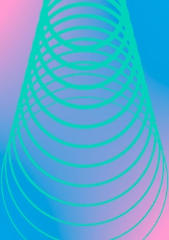 Minimale trendy voorbladsjabloon. futuristische lay-out met halftonen. geometrische minimale voorbladsjabloon voor boek, catalogus en jaarlijks. minimalistische kleurrijke verlopen. abstracte zakelijke illustratie.