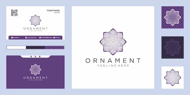Minimalistisch elegant logo-ontwerp het logo kan worden gebruikt voor schoonheid, cosmetica en spa