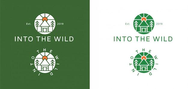 Minimalistisch modern logo