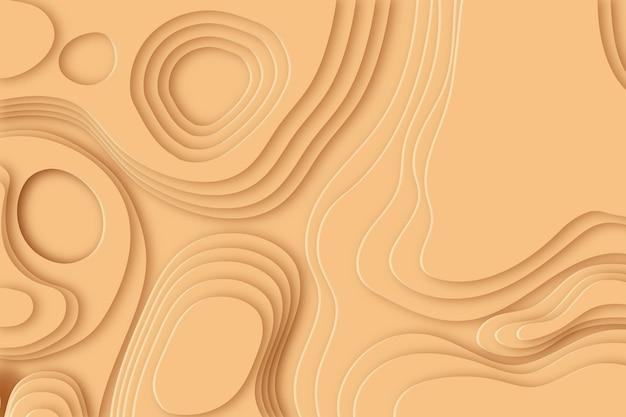 Minimalistisch topografisch kaartbehang