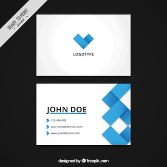 Minimalistische abstracte corporate card