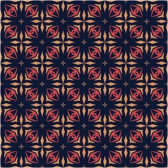 Minimalistische abstracte patroon kleurrijke stijl