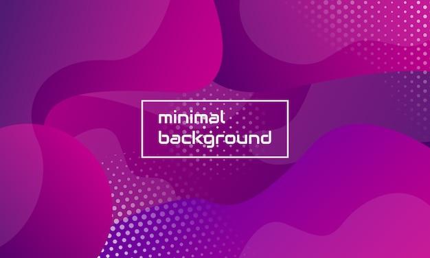 Minimalistische abstracte vorm samenstelling