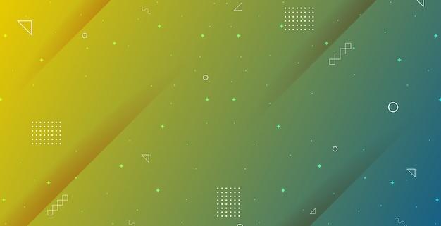 Minimalistische achtergrond met abstract geometrisch verloop