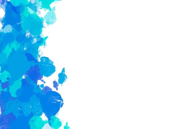 Minimalistische achtergrond met penseelstreken