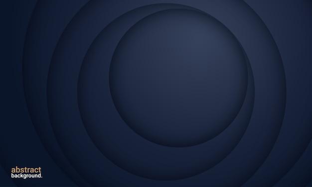 Minimalistische diepblauwe premium abstracte achtergrond
