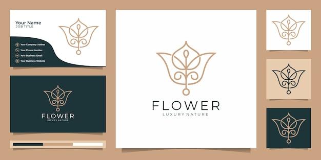 Minimalistische elegante bloem roos luxe schoonheidssalon, mode, huidverzorging