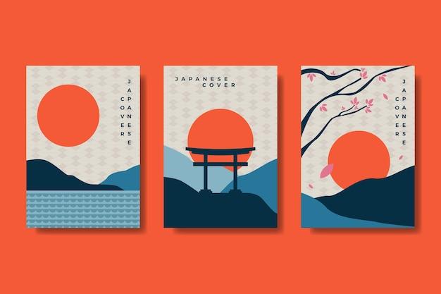 Minimalistische japanse covercollectie
