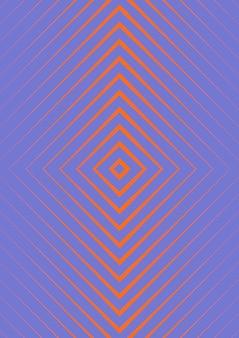 Minimalistische kleurrijke abstracte cover