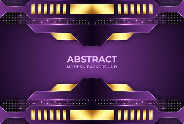 Minimalistische paarse achtergrond met kleurovergang met vormen abstracte moderne achtergronden