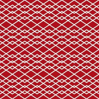 Minimalistische stijl naadloze patroon achtergrond met witte lijnen vormen geometrische ruit ornament op ...