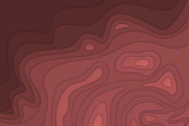 Minimalistische topografische kaartachtergrond
