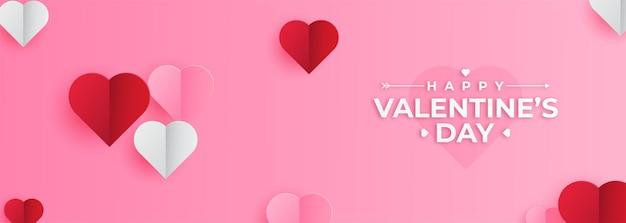 Minimalistische valentijnsdag achtergrond