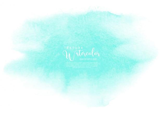 Mint aquarel textuur achtergrond
