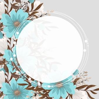 Mintgroene bloemen