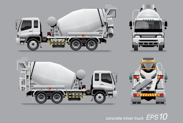 Mixer vrachtwagen