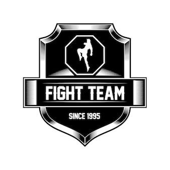 Mma fight team logo