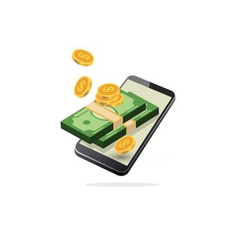 Mobiel betalen, mobiel bankieren