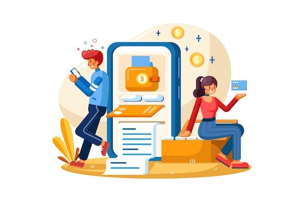 Mobiel betalingssysteem