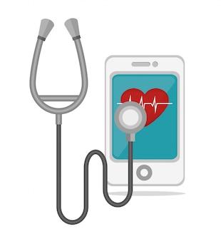 Mobiel gezondheidsontwerp