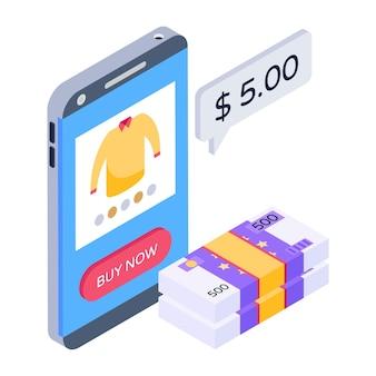 Mobiel winkelen betalen