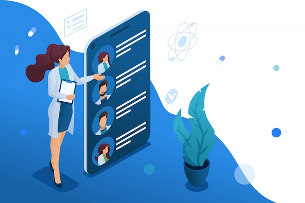 Mobiele app om artsen bij u in de buurt te zoeken