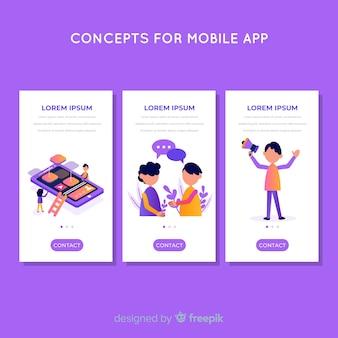 Mobiele app-sjabloon