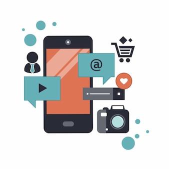 Mobiele applicatie een ontwikkelingsconcept