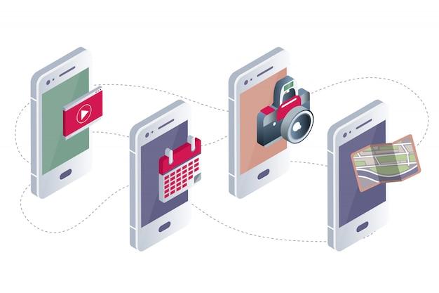 Mobiele applicaties concept