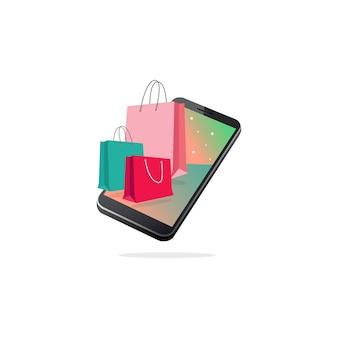 Mobiele boodschappentassen