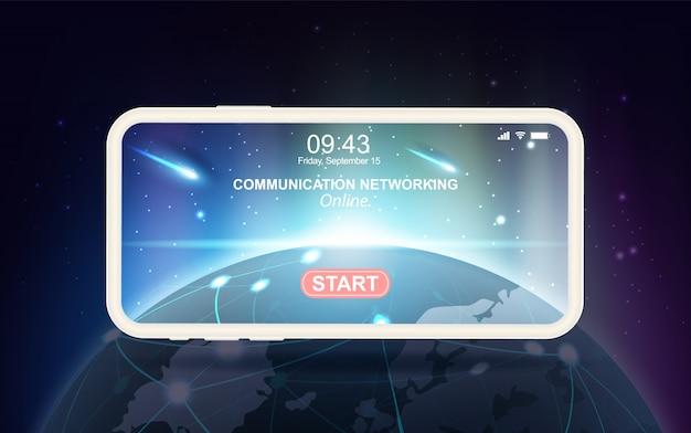 Mobiele communicatienetwerktechnologie