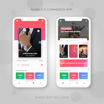 Mobiele e-commerce app