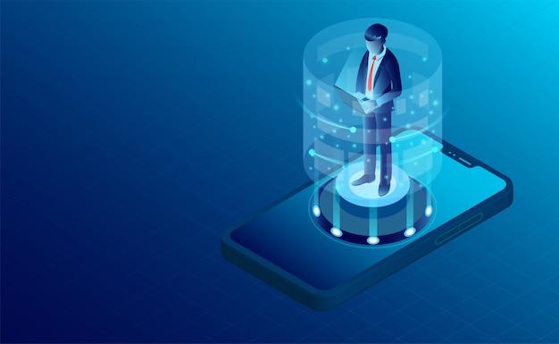 Mobiele gebruikersbanner
