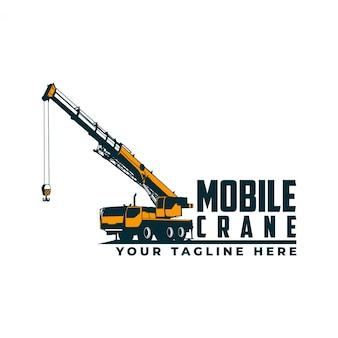Mobiele kraan logo